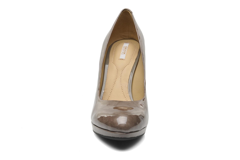 Escarpins Geox D Mariele Plat H F D34W8F Marron vue portées chaussures