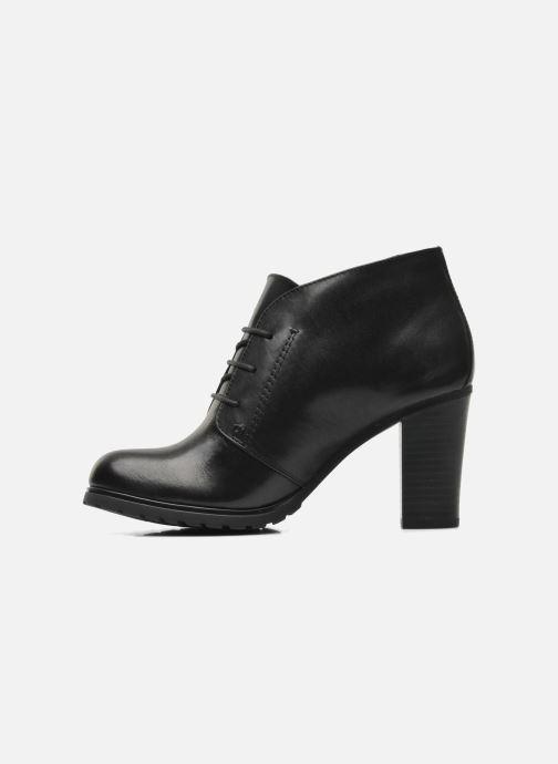 Bottines et boots Geox Donna Trish ABX A D44Y1A Noir vue face
