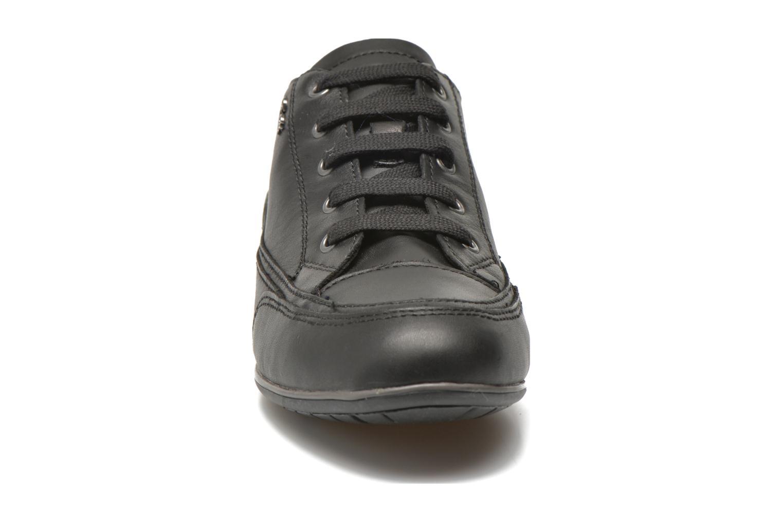 Baskets Geox D New Moena A D4260A Noir vue portées chaussures