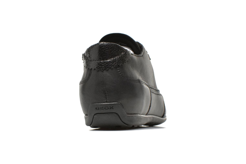 Baskets Geox D New Moena A D4260A Noir vue droite