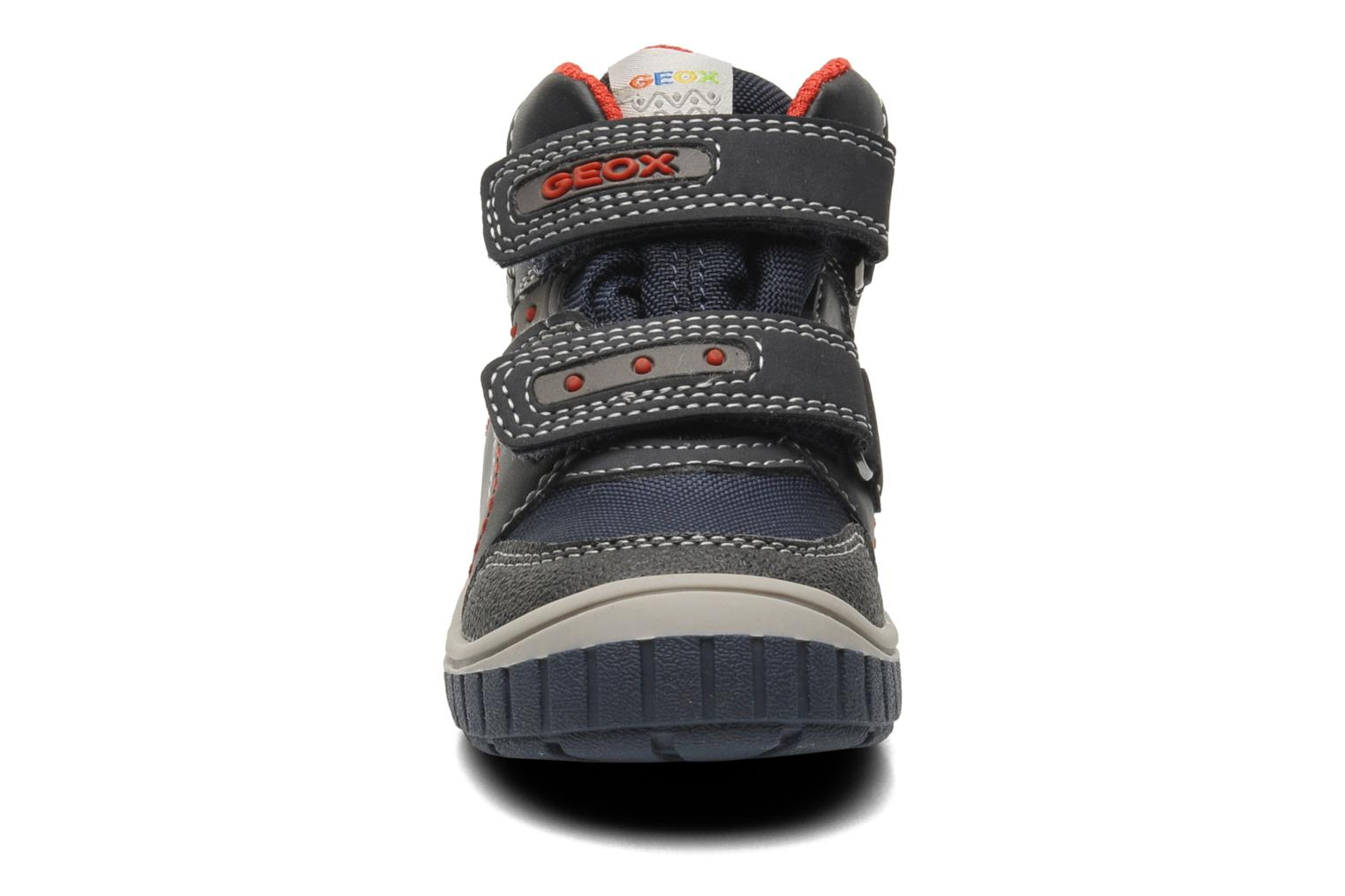 Baskets Geox B Omar B Boy ABX A B44N3A Bleu vue portées chaussures