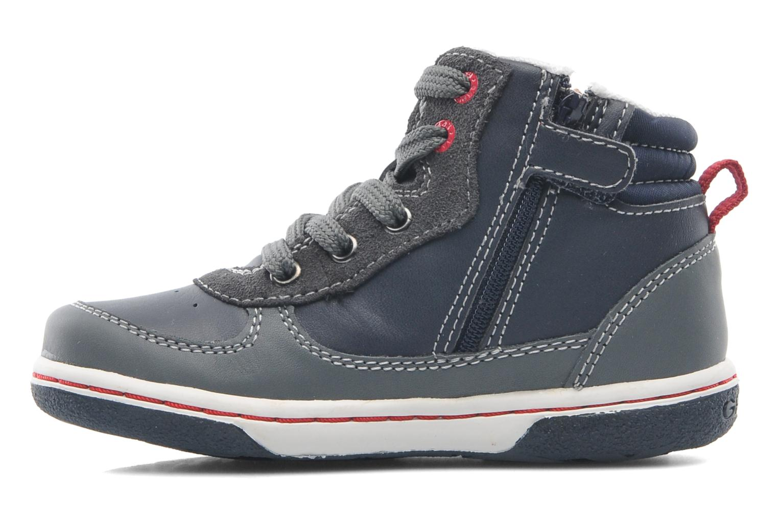 Trainers Geox Baby Flick Boy A B4437A Blue front view