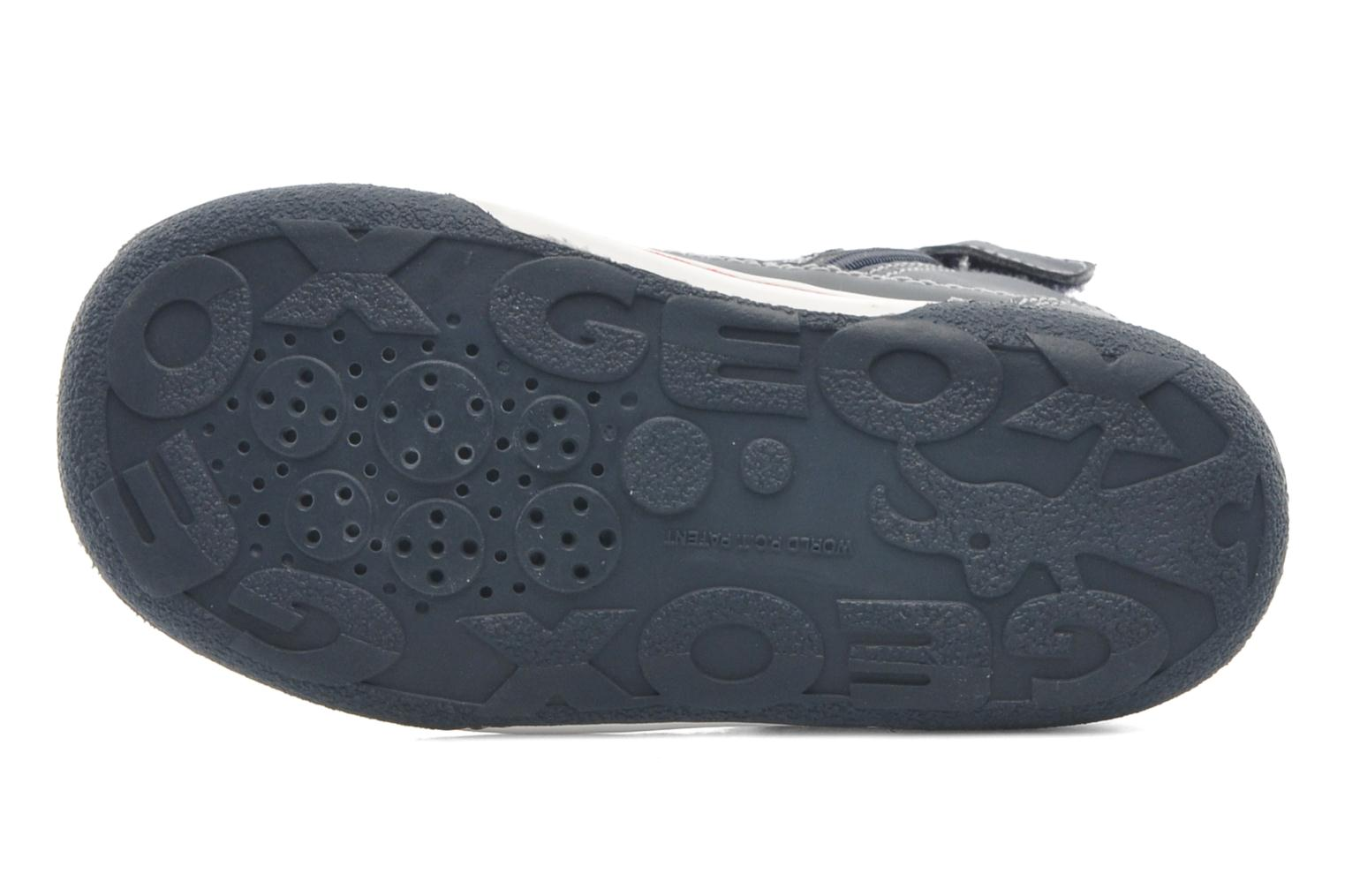 Trainers Geox Baby Flick Boy A B4437A Blue view from above