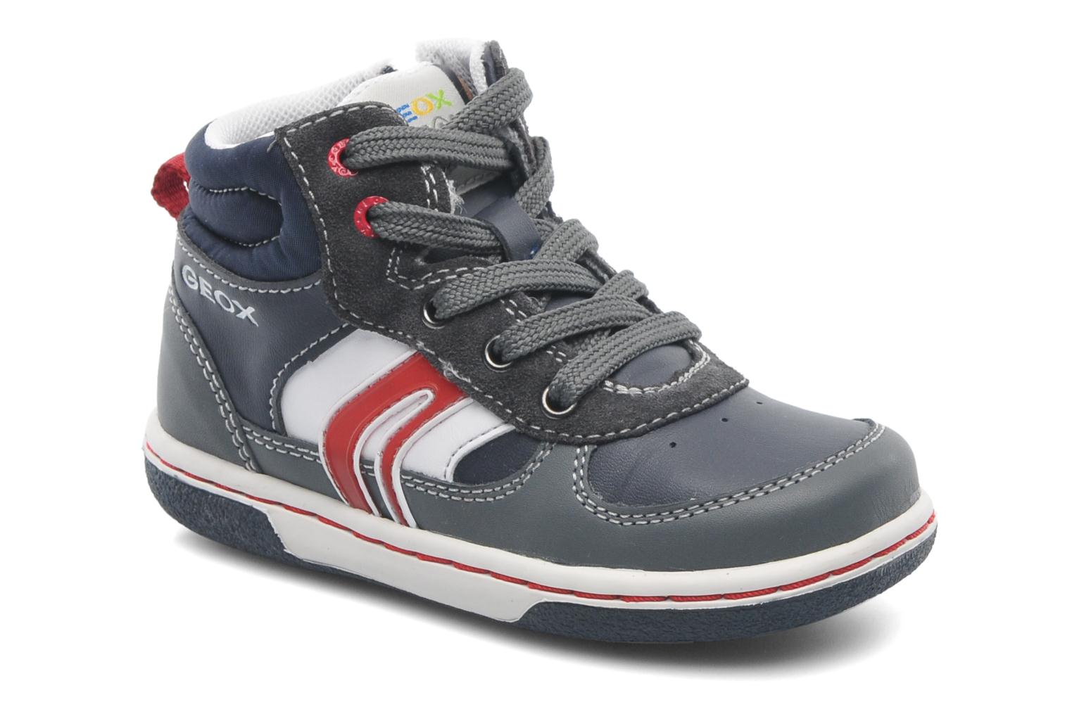 Trainers Geox Baby Flick Boy A B4437A Blue detailed view/ Pair view