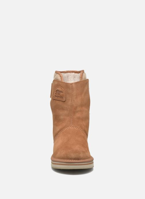Bottines et boots Sorel Newbie I Marron vue portées chaussures
