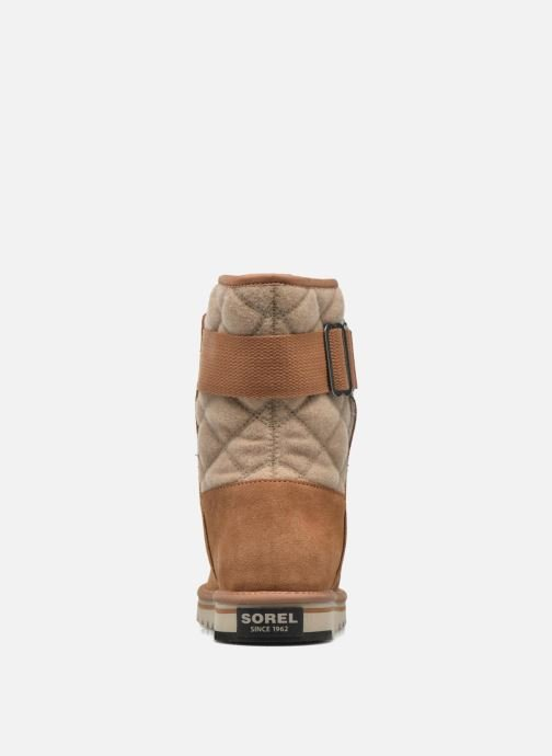 Ankle boots Sorel Newbie I Brown view from the right