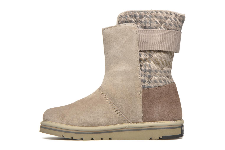 Bottines et boots Sorel Newbie I Gris vue face