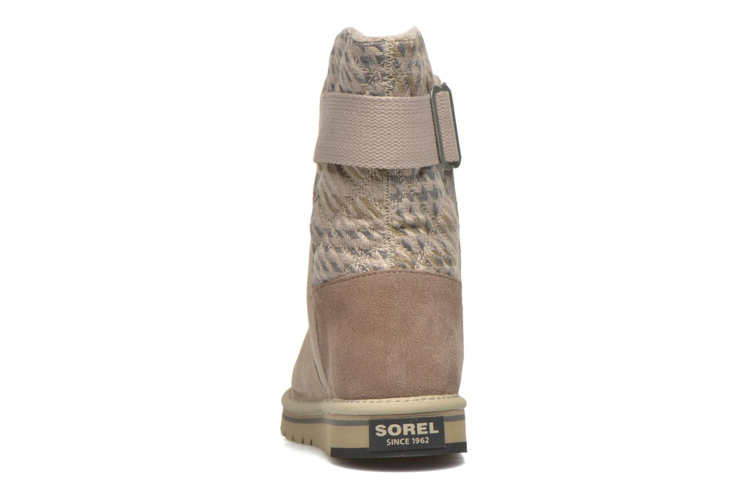 Ankle boots Sorel Newbie I Grey view from the right
