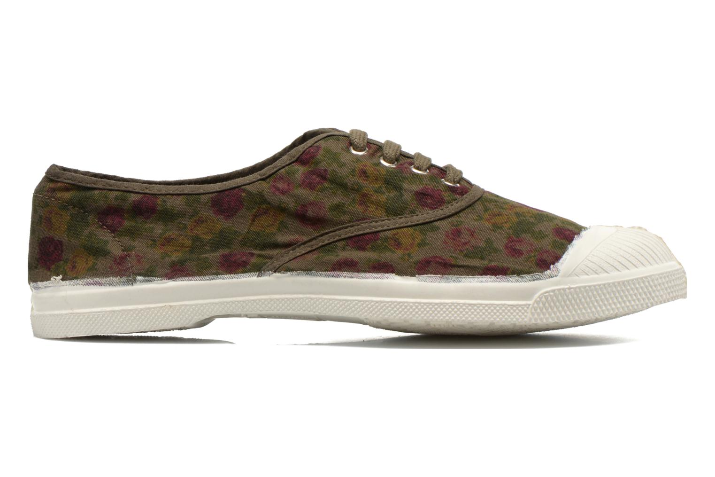 Sneakers Bensimon Tennis Paco Chicano Fleurs Multicolor achterkant