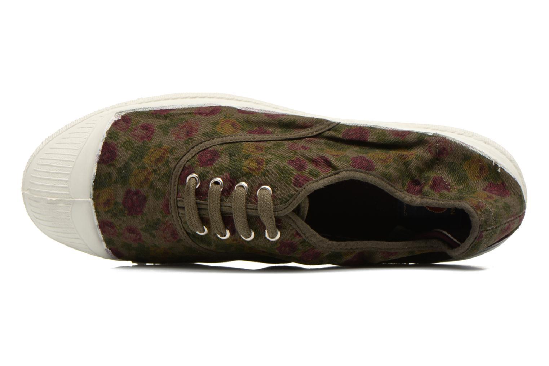 Sneakers Bensimon Tennis Paco Chicano Fleurs Multicolor links