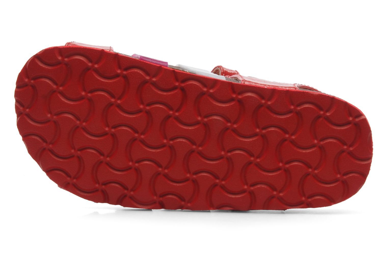 Sandalias Kickers MAGIPLAY Rojo vista de arriba