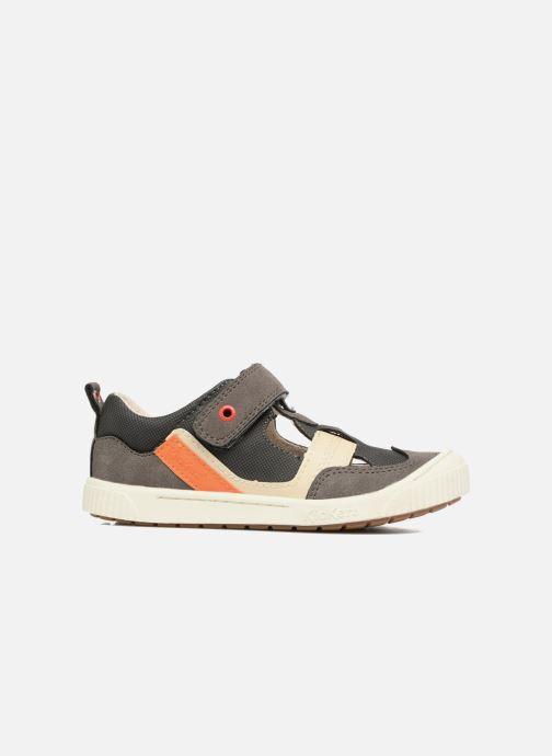 Schoenen met klitteband Kickers ZIGUERO Grijs achterkant