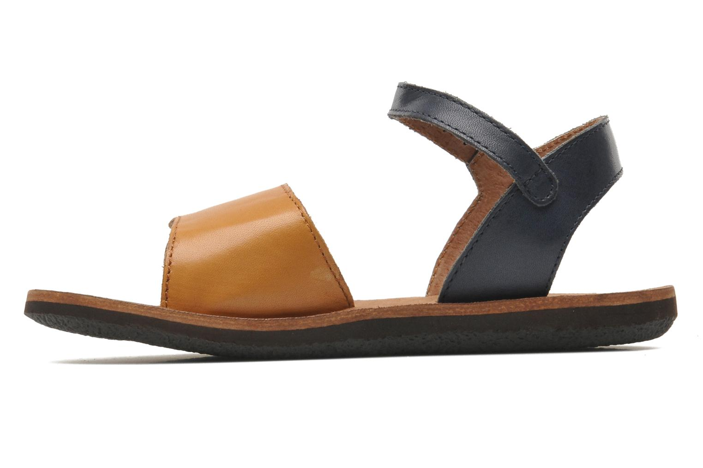 Sandaler Kickers SPARTINY Beige se forfra