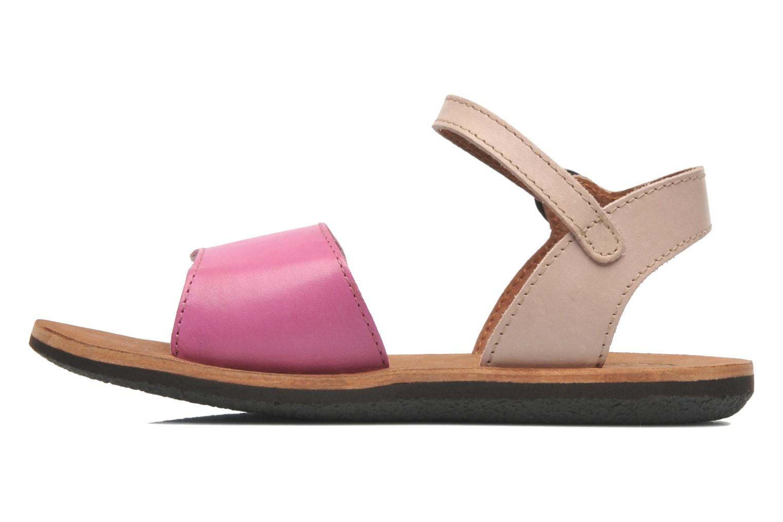 Sandaler Kickers SPARTINY Pink se forfra