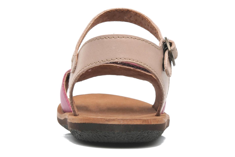 Sandaler Kickers SPARTINY Pink Se fra højre