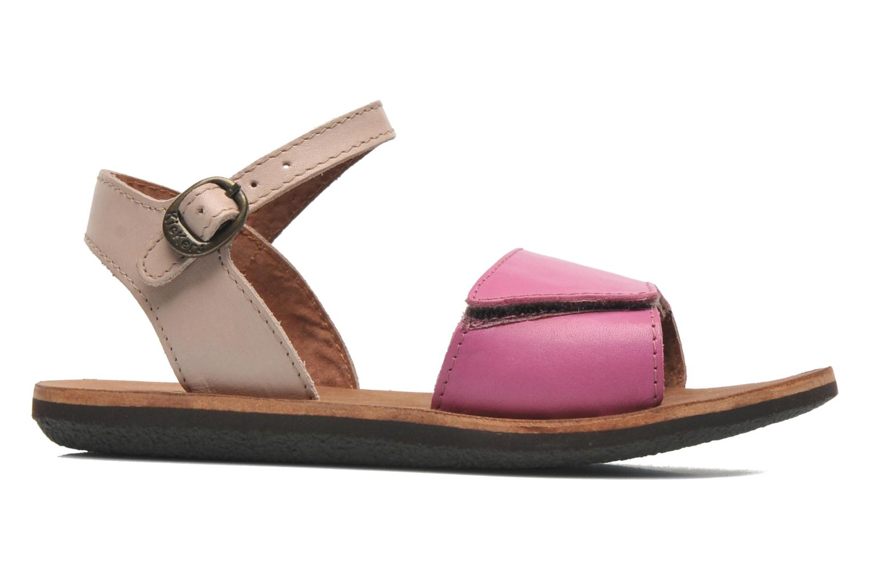 Sandaler Kickers SPARTINY Pink se bagfra
