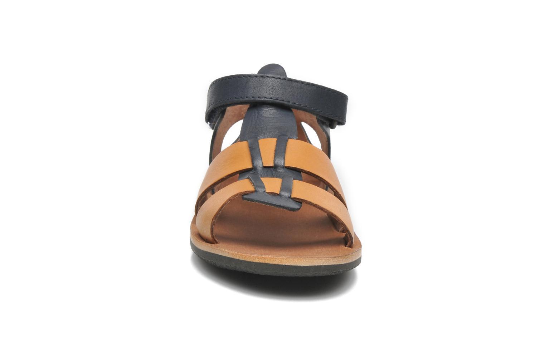 Sandales et nu-pieds Kickers SPAZZO Bleu vue portées chaussures