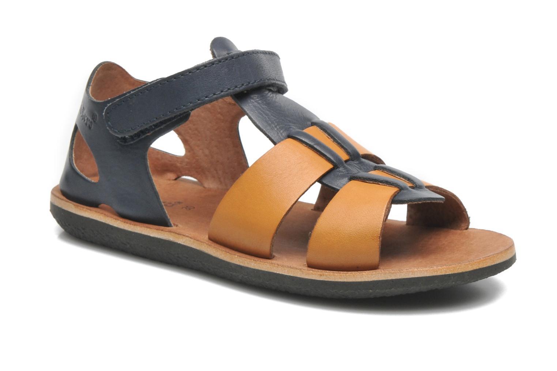Sandales et nu-pieds Kickers SPAZZO Bleu vue détail/paire