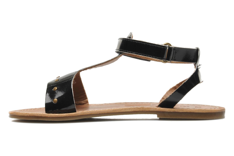 Sandales et nu-pieds Kickers DIZAINE V Noir vue face