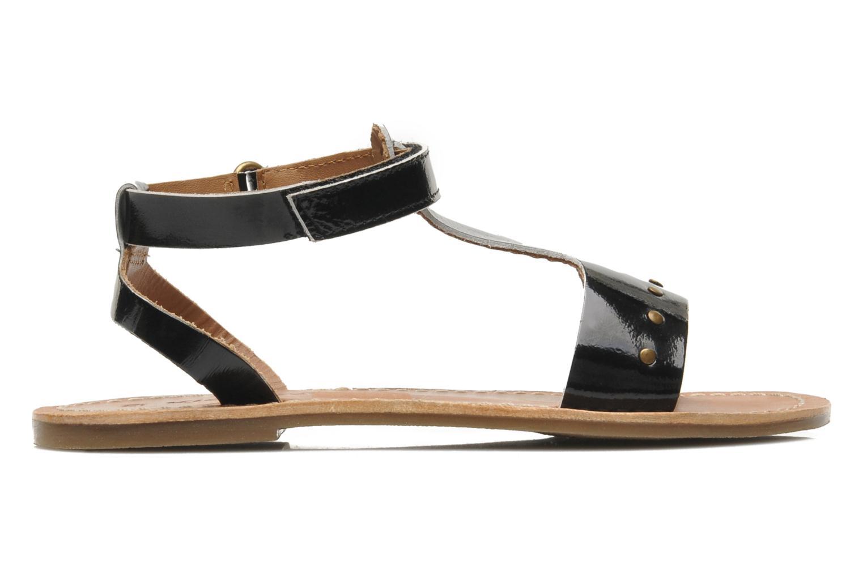 Sandales et nu-pieds Kickers DIZAINE V Noir vue derrière
