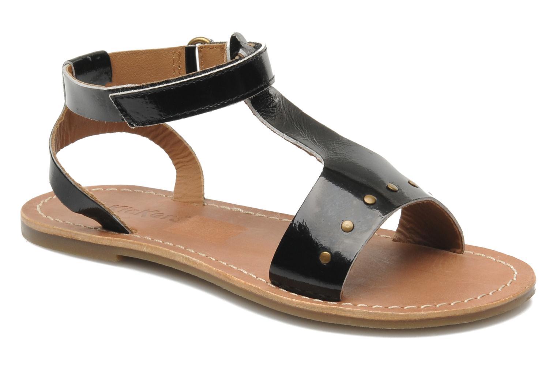 Sandales et nu-pieds Kickers DIZAINE V Noir vue détail/paire