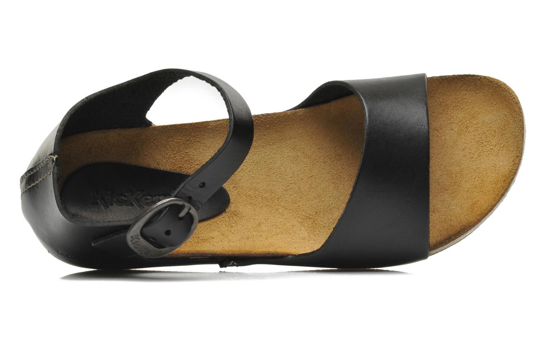 Sandaler Kickers BOMBERA Sort se fra venstre