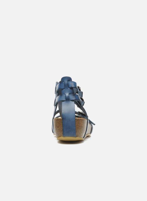 Sandalen Kickers BOMDIA Blauw rechts