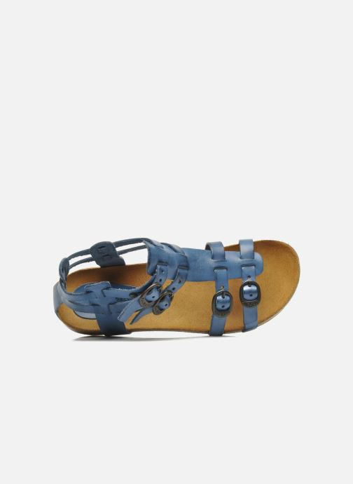 Sandalen Kickers BOMDIA Blauw links