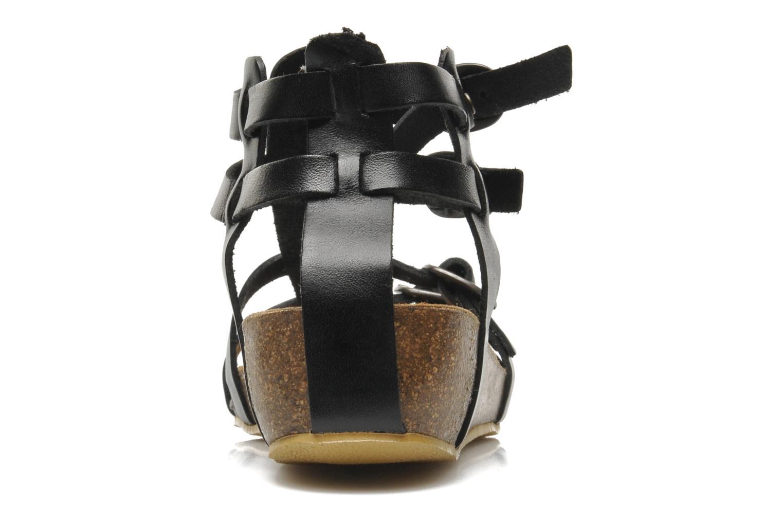 Sandales et nu-pieds Kickers BOMDIA Noir vue droite