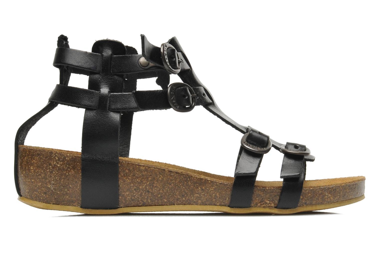 Sandales et nu-pieds Kickers BOMDIA Noir vue derrière