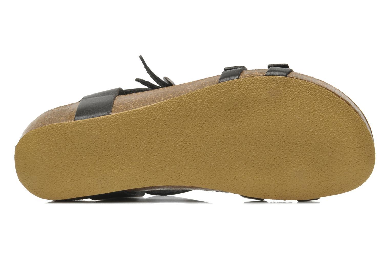 Sandales et nu-pieds Kickers BOMDIA Noir vue haut
