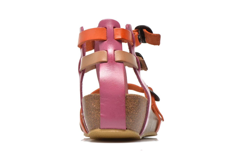 Sandales et nu-pieds Kickers BOMDIA Rose vue droite