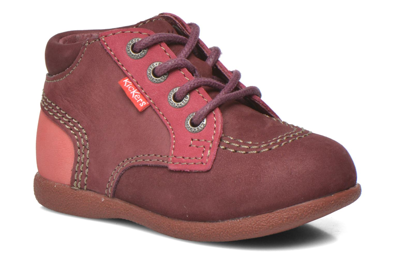 74dd0242a354 Kickers Babystan (Bordeaux) - Bottines et boots chez Sarenza (265364)