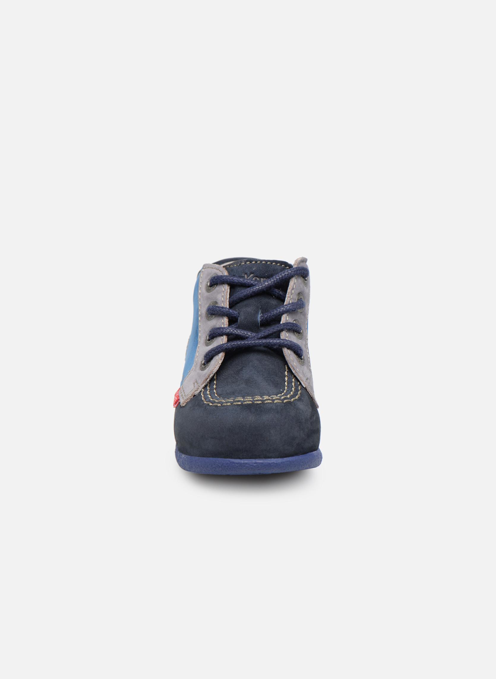 Bottines et boots Kickers Babystan Bleu vue portées chaussures
