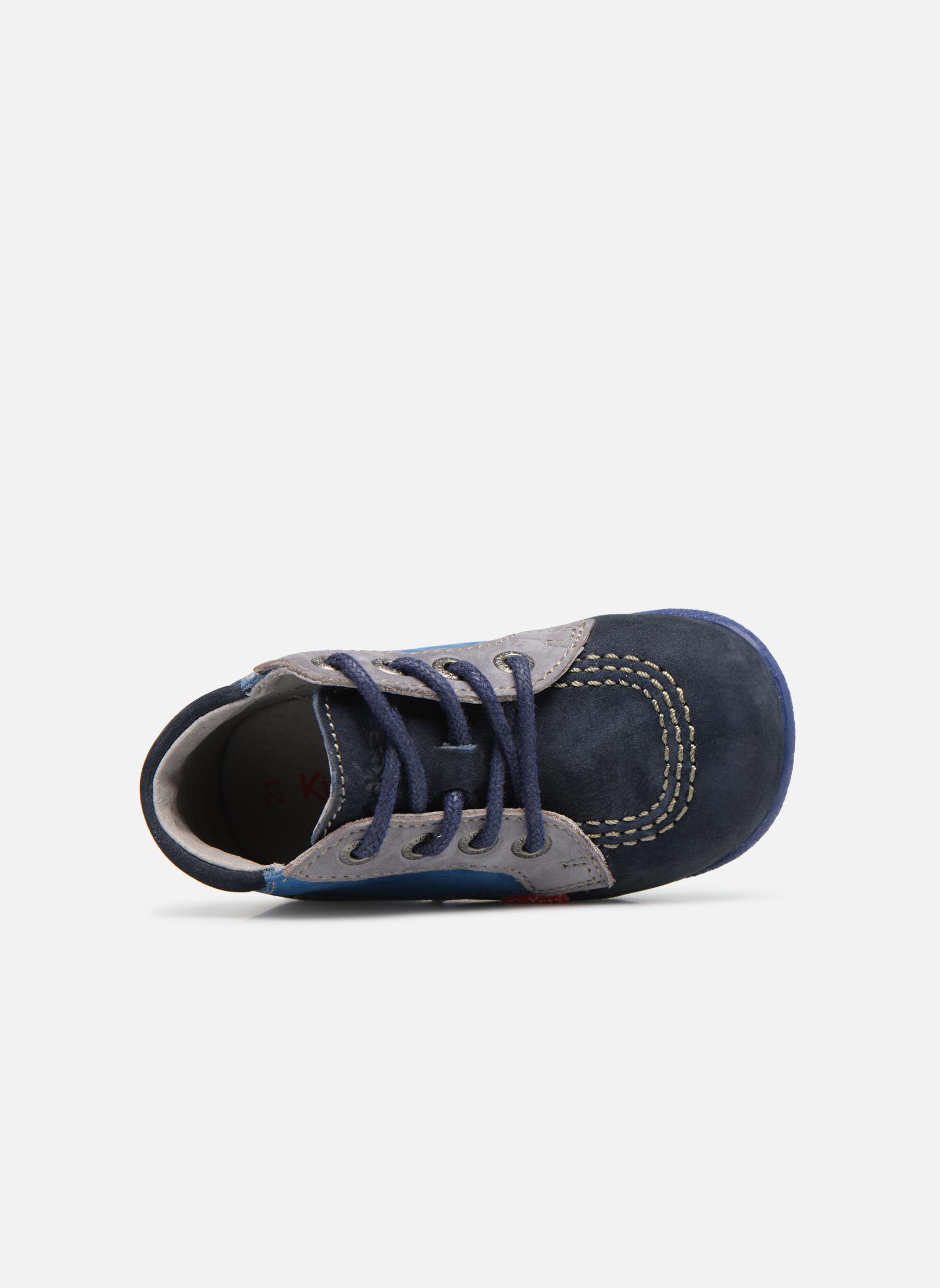 Bottines et boots Kickers Babystan Bleu vue gauche