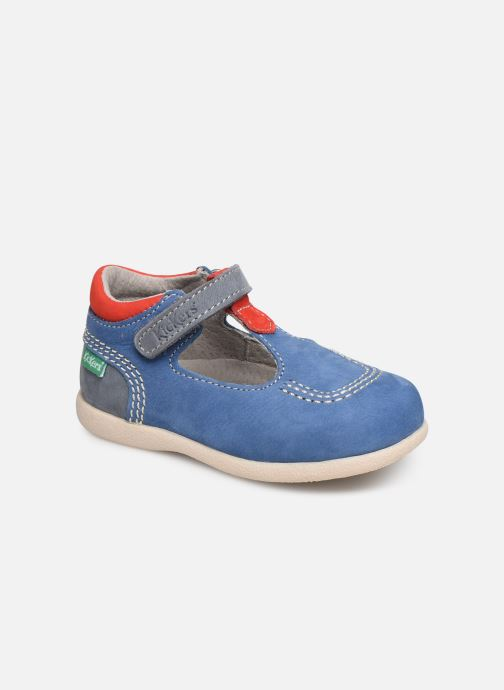 Sommerschuhe Kickers BABYFRESH blau detaillierte ansicht/modell