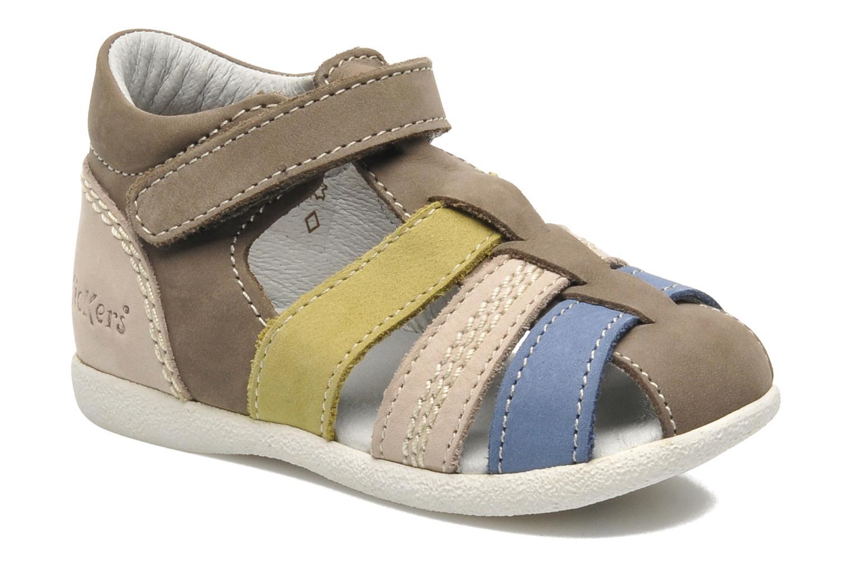 Sandales et nu-pieds Kickers BABYSUN2 Gris vue détail/paire