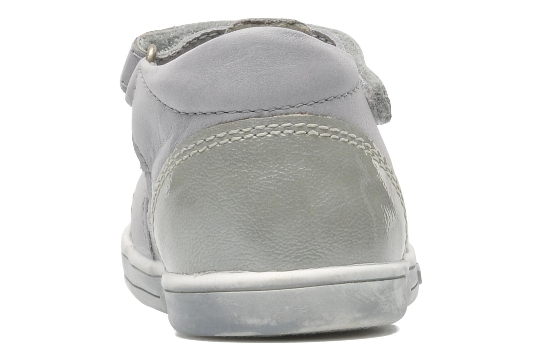 Chaussures à scratch Kickers TREFUN Gris vue droite