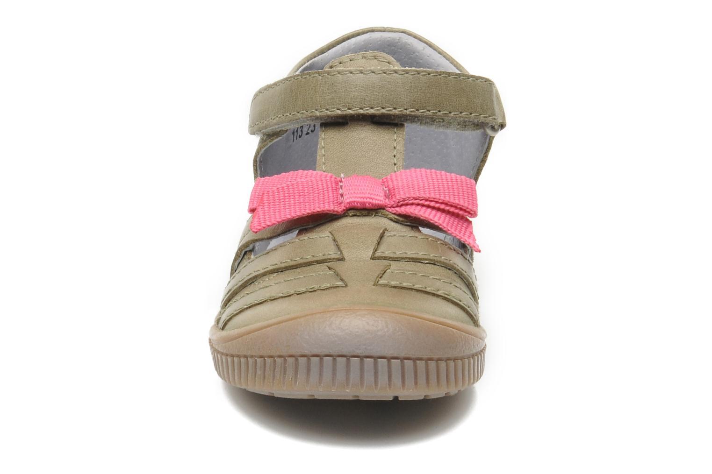 Sko med velcro Kickers NOVELLA Grøn se skoene på