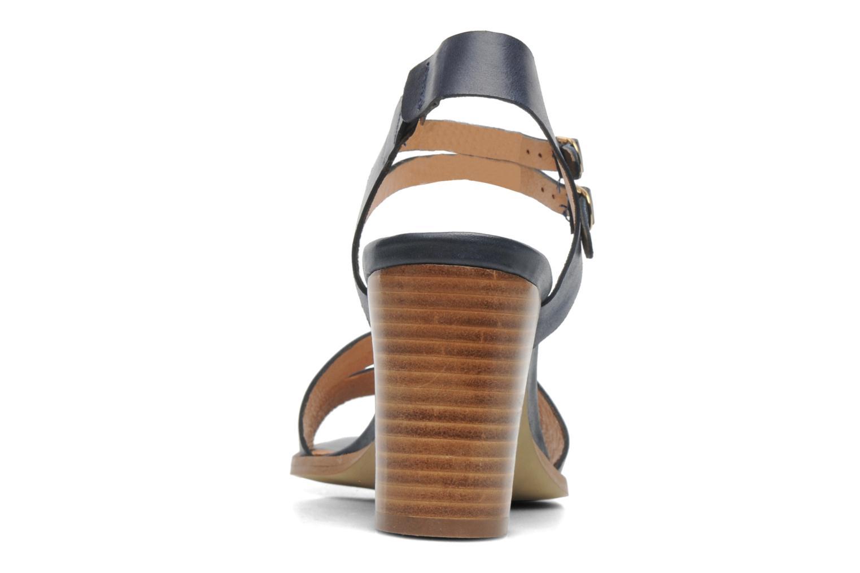 Sandales et nu-pieds Georgia Rose Chapon Bleu vue droite