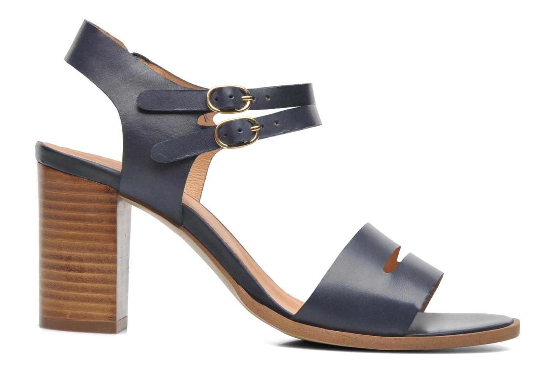Sandales et nu-pieds Georgia Rose Chapon Bleu vue derrière