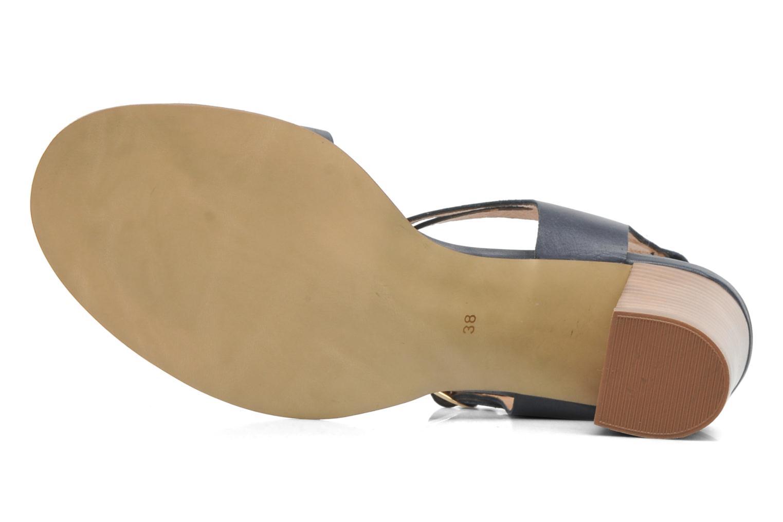 Sandales et nu-pieds Georgia Rose Chapon Bleu vue haut