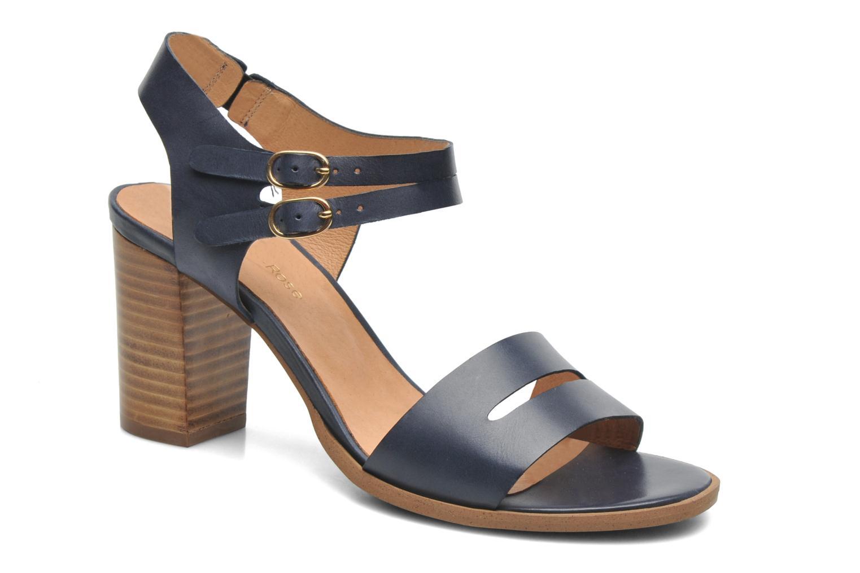 Sandales et nu-pieds Georgia Rose Chapon Bleu vue détail/paire