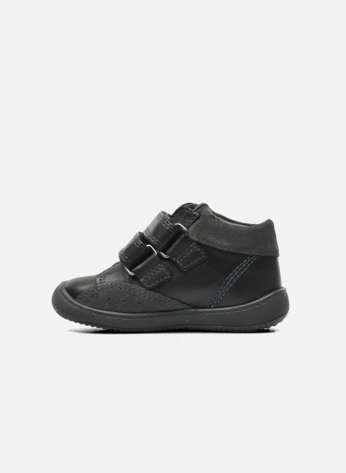 Chaussures à scratch Aster Pavel Noir vue face