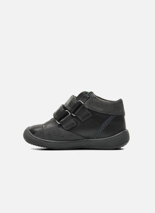 Schoenen met klitteband Aster Pavel Zwart voorkant