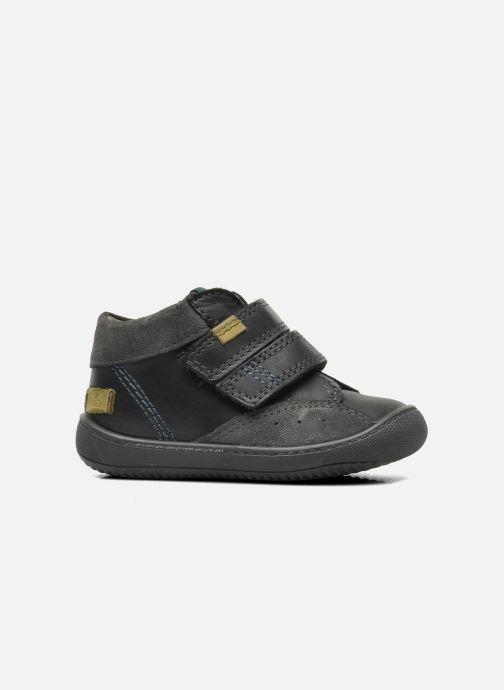 Schoenen met klitteband Aster Pavel Zwart achterkant