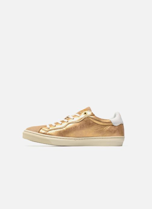 Trainers Pantofola d'Oro Gianna Low Ladies Bronze and Gold front view