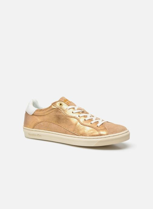 Trainers Pantofola d'Oro Gianna Low Ladies Bronze and Gold detailed view/ Pair view