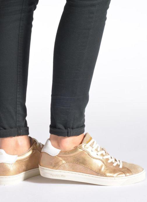 Baskets Pantofola d'Oro Gianna Low Ladies Gris vue bas / vue portée sac