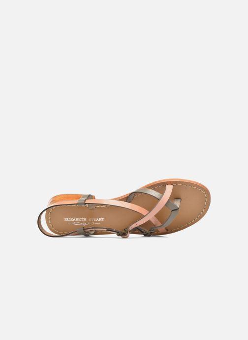 Sandales et nu-pieds Elizabeth Stuart Hop 683 Orange vue gauche